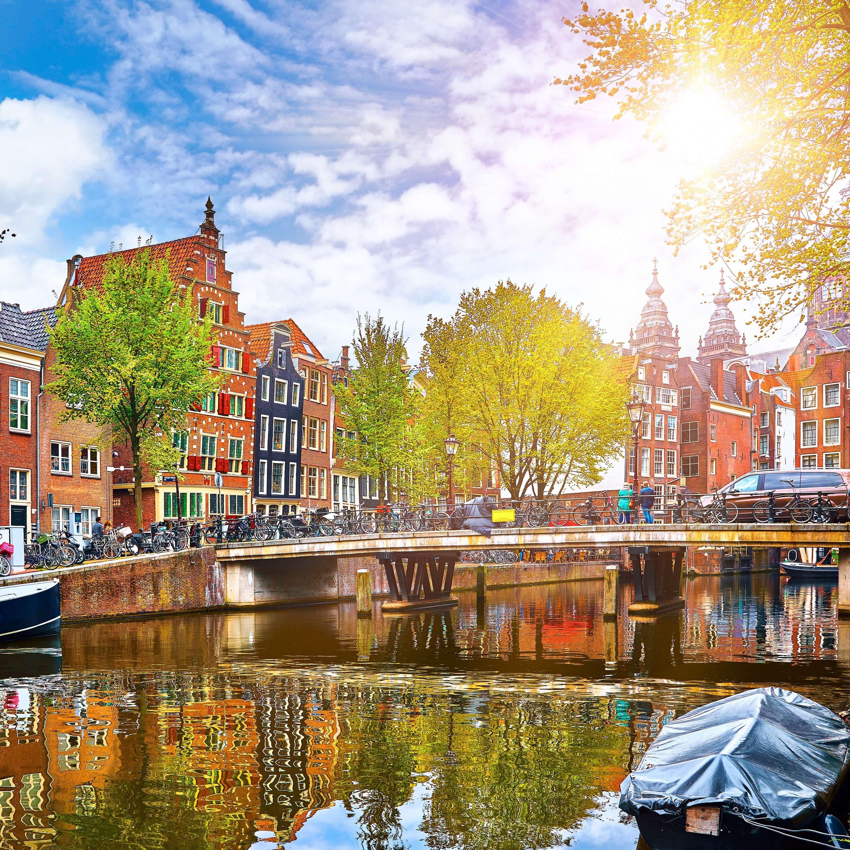 Amsterdam - Paseo barco por canales
