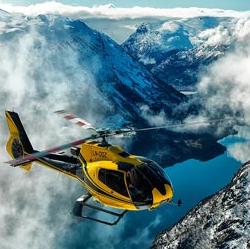 Olden: Viaje en Helicóptero Parque Nacional de Jostedal (PRIVADO)