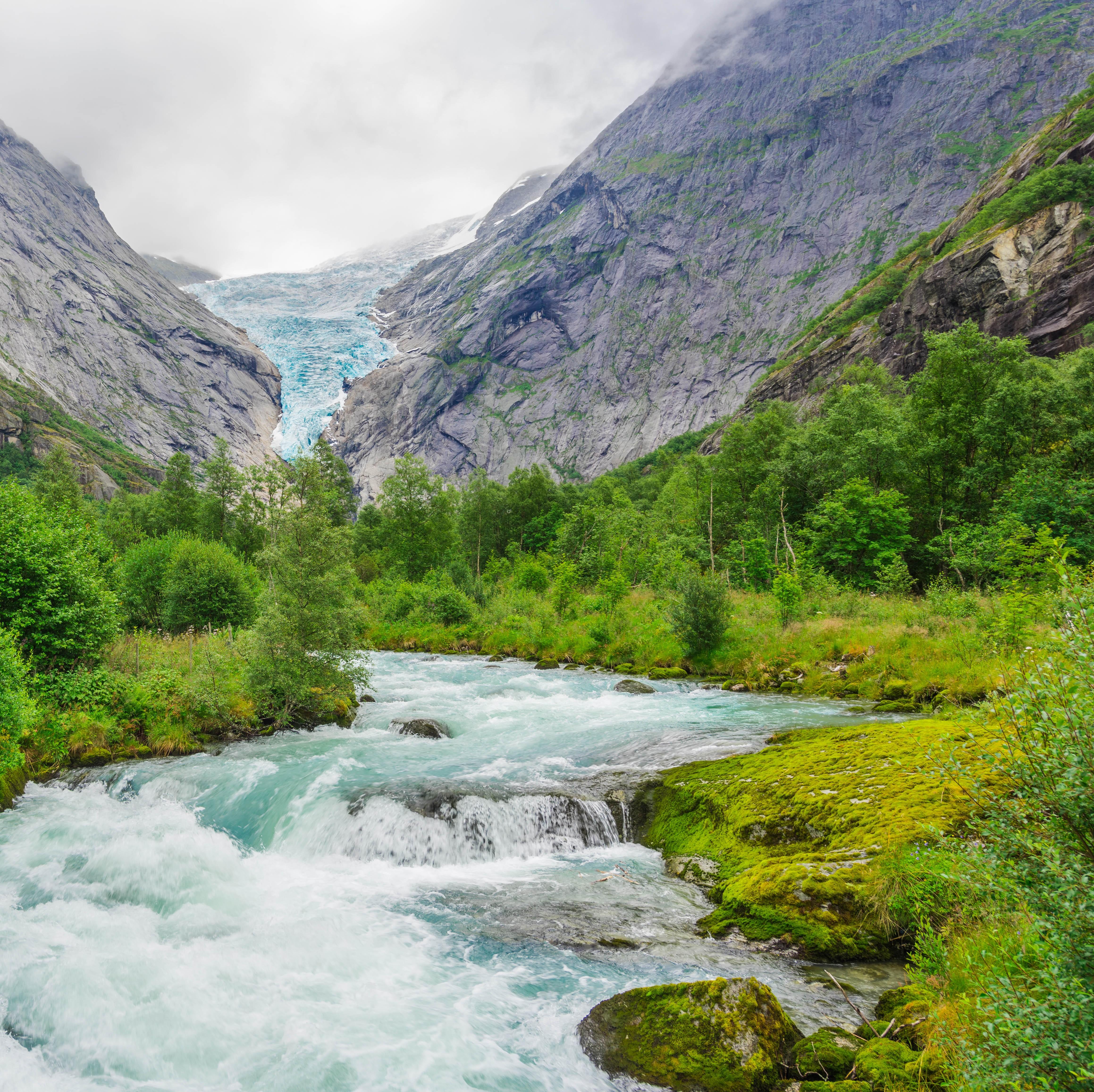 Olden, Glaciar de Briksdal