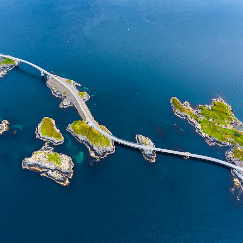 La Carretera del Atlántico (desde Molde)