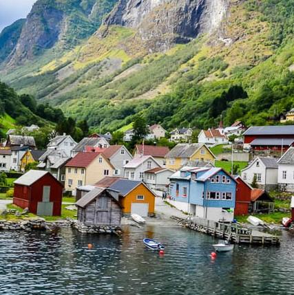 Flåm: Crucero Nærøyfjord