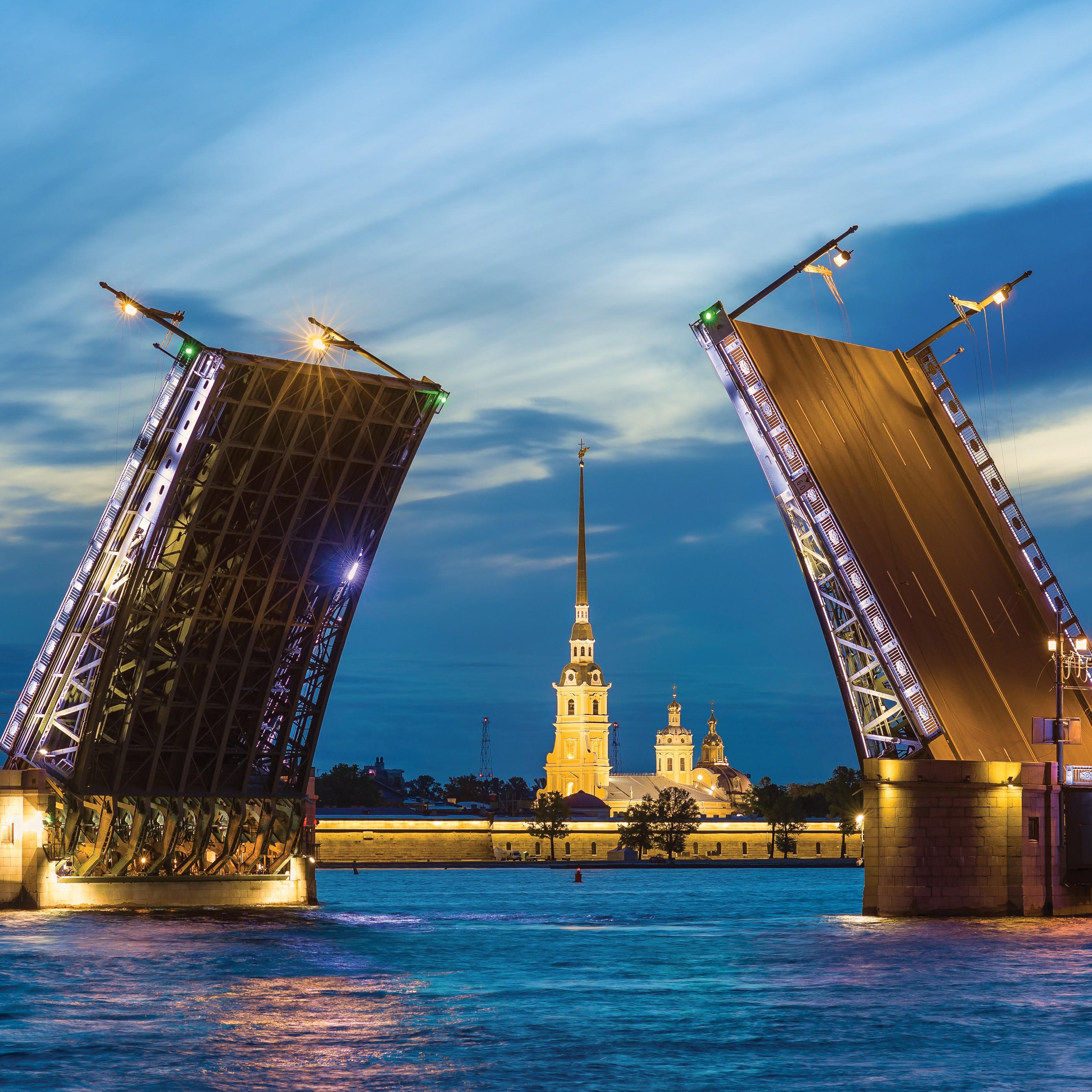 San Petersburgo: Excursión Nocturna