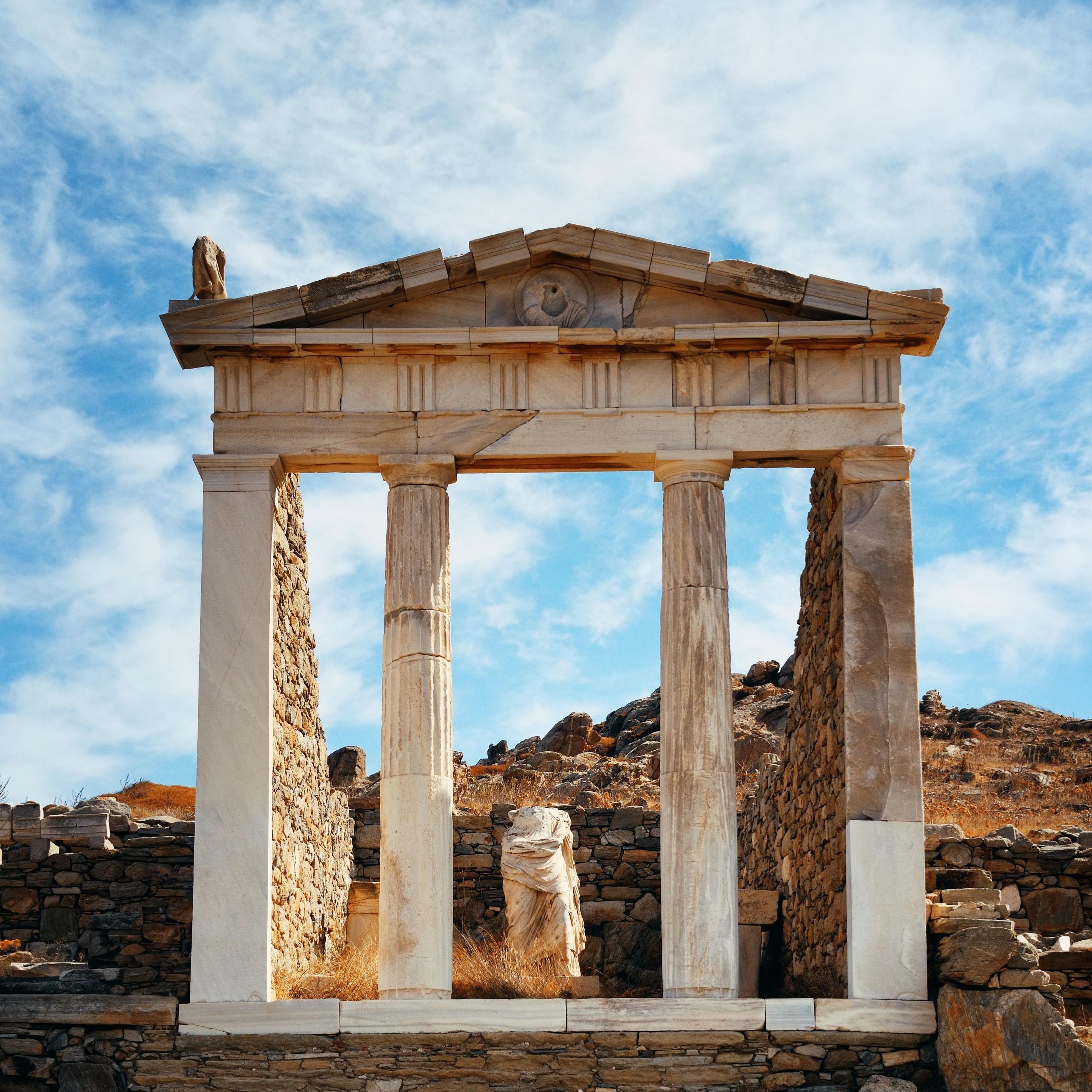 Isla de Delos (desde Mykonos)