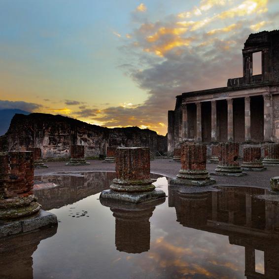 Salerno: Ruinas de Pompeya