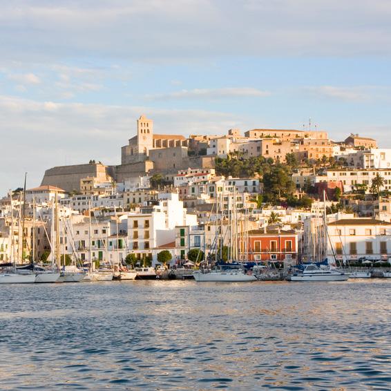 Ibiza, panorámica Dalt Vila (PRIVADO)