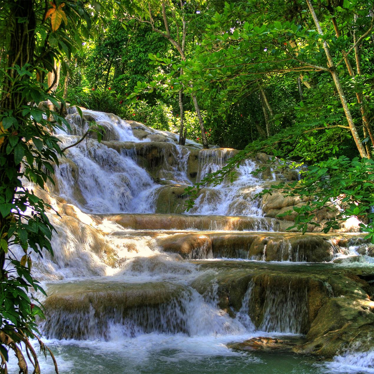 Las Cataratas del Río Dunn