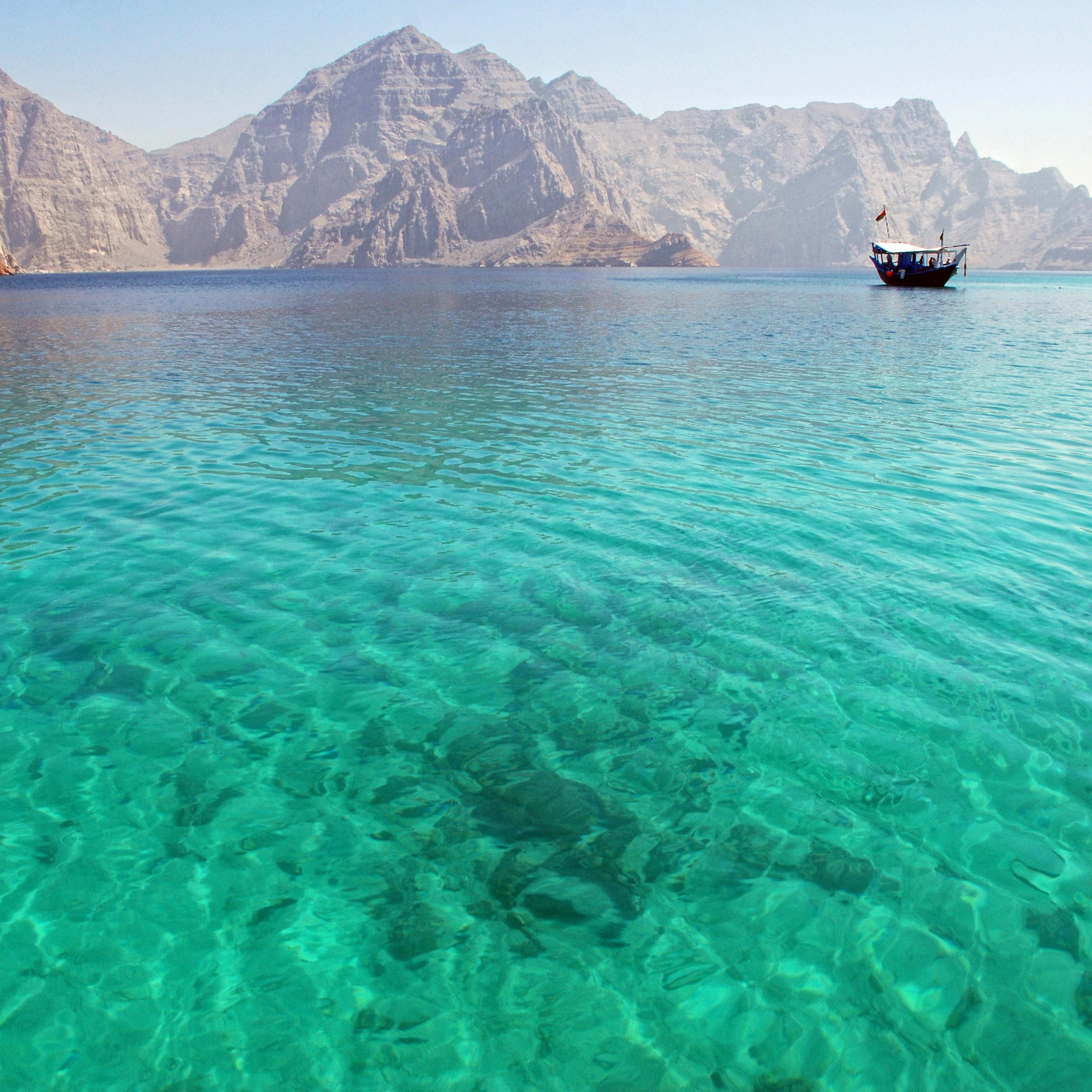 Khasab: Crucero en Dhow (por Fiordo Musandam)