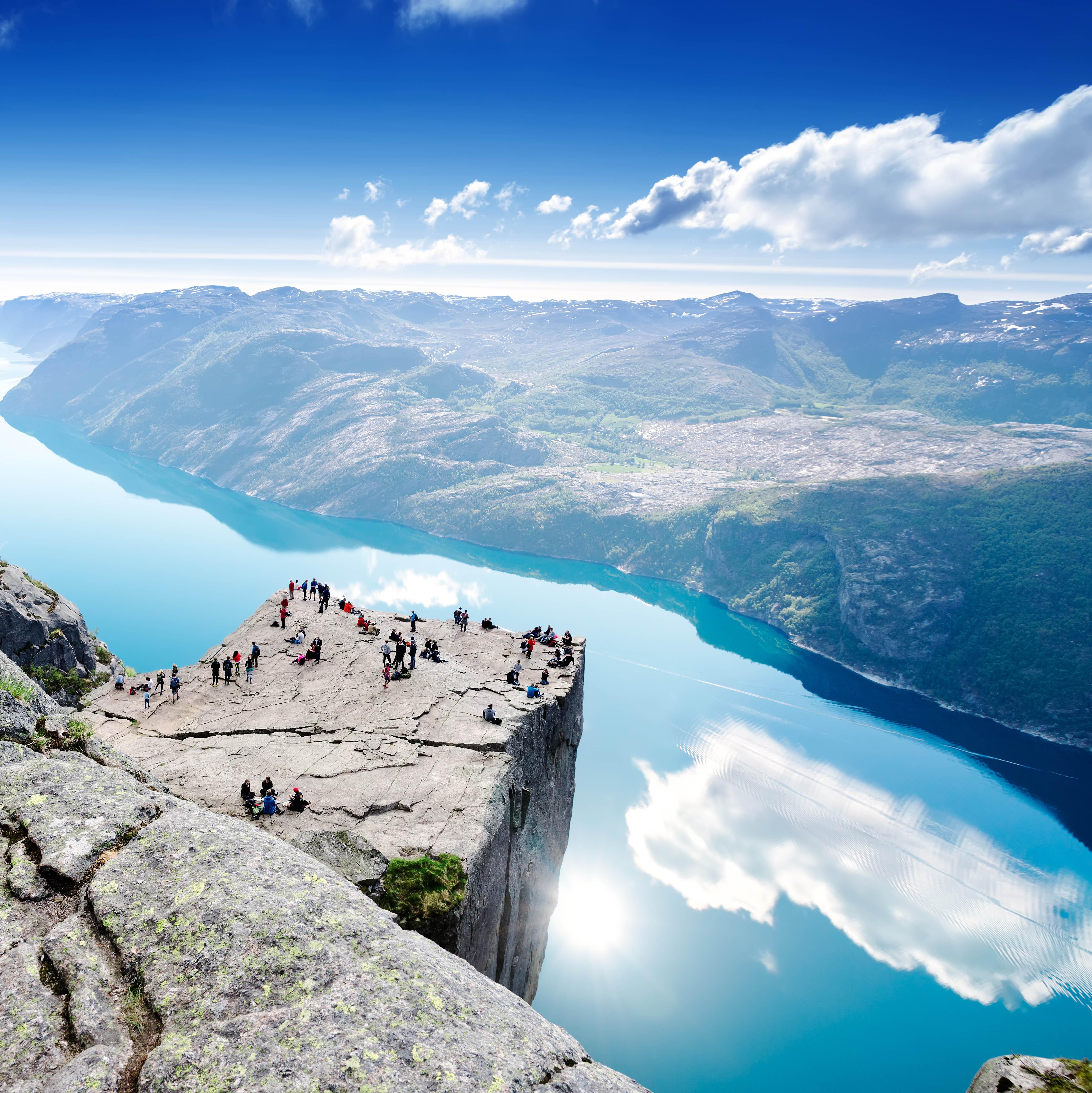 Stavanger: El Púlpito en Helicóptero (PRIVADO)