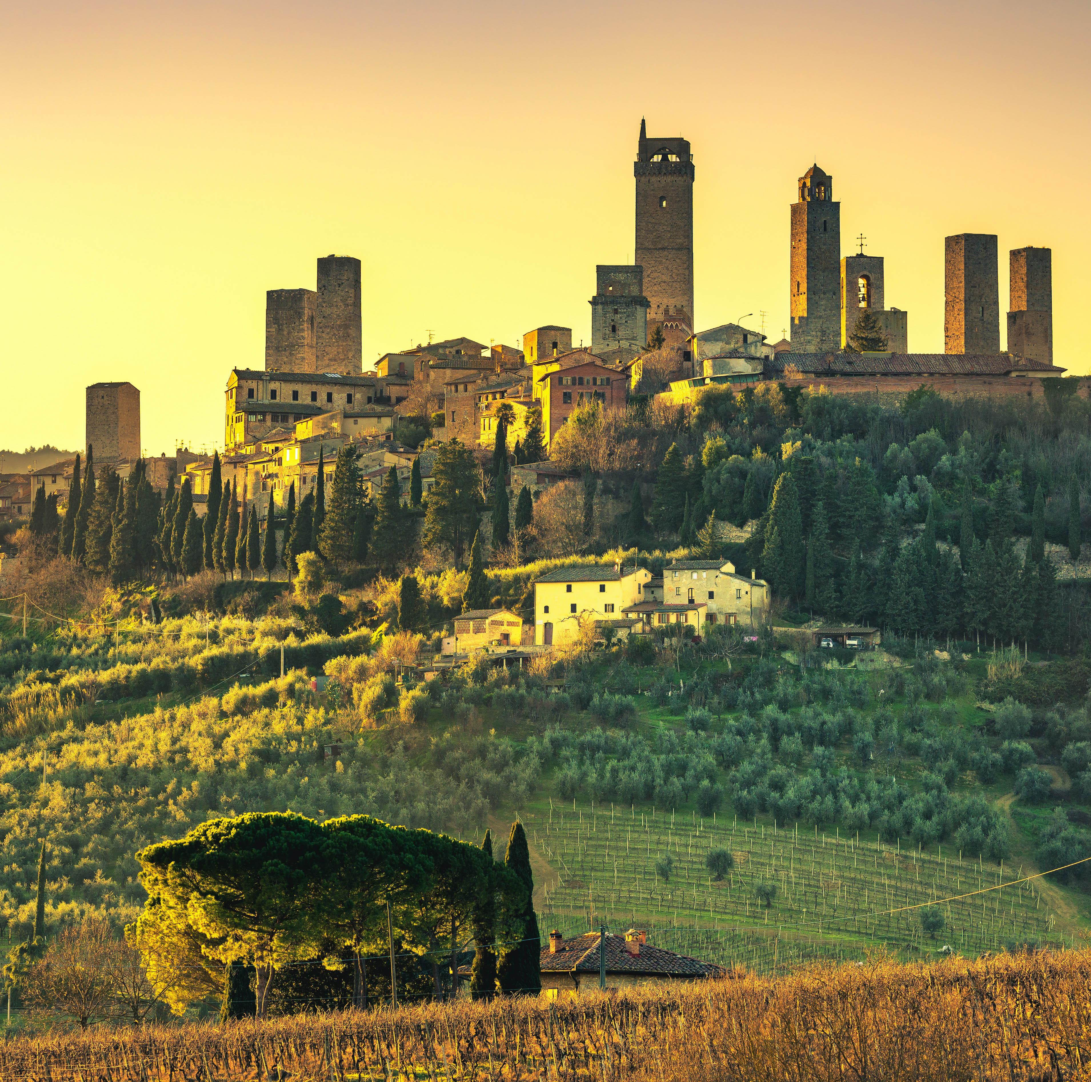Monteriggion, San Gimignano y Siena (PRIVADO)