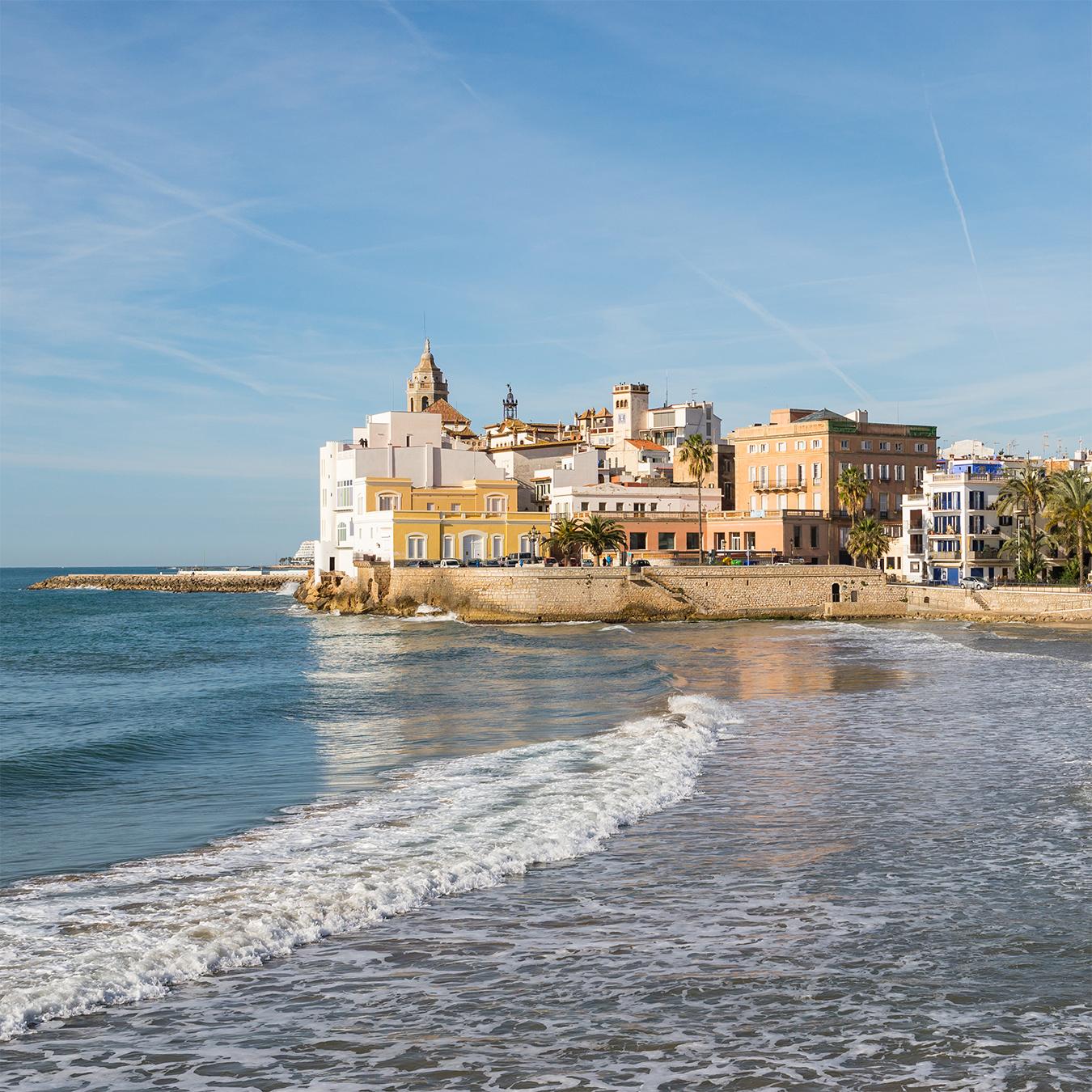 Barcelona: visita Sant Sadurní + Sitges (PRIVADO)