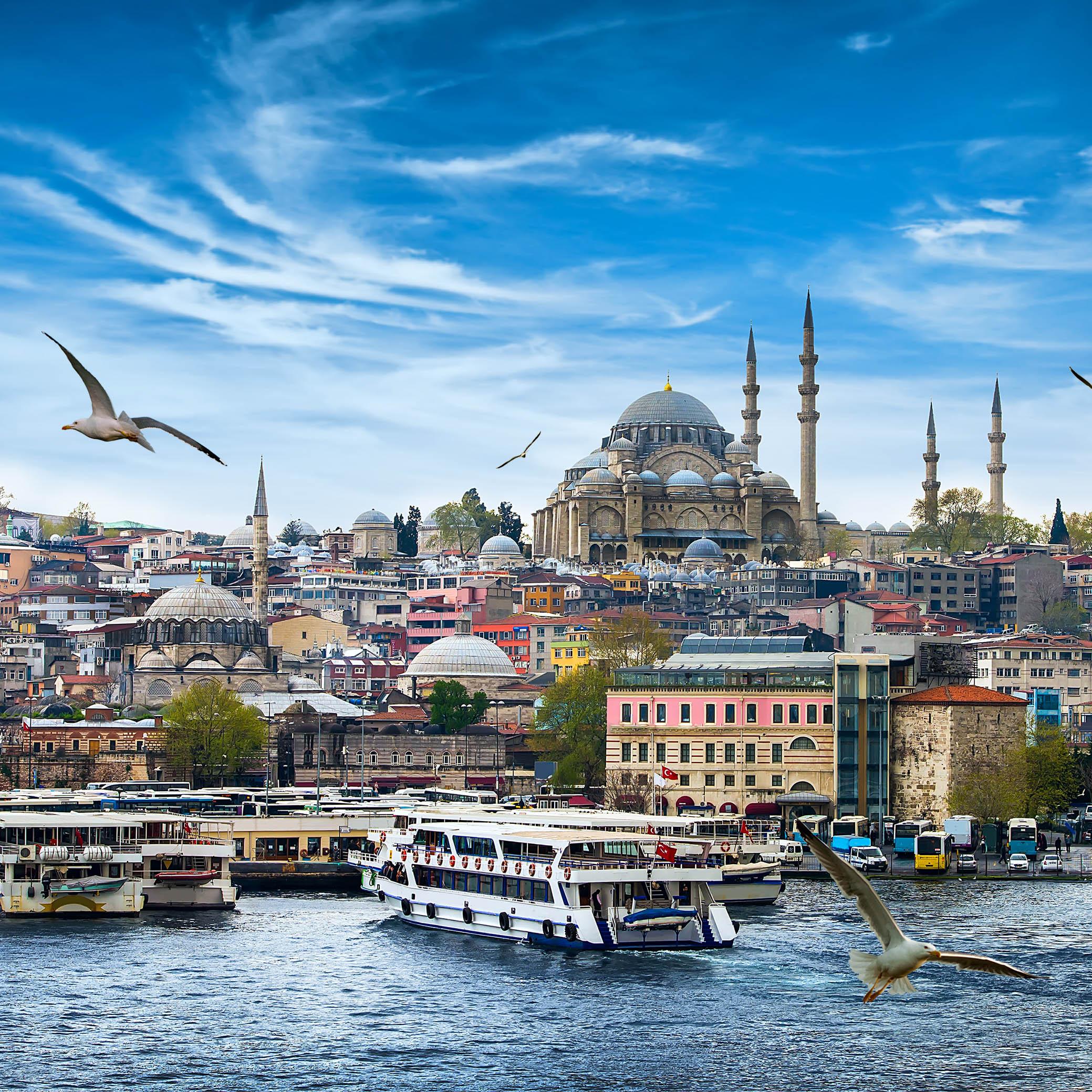 Estambul, paseo por el Bósforo en barco