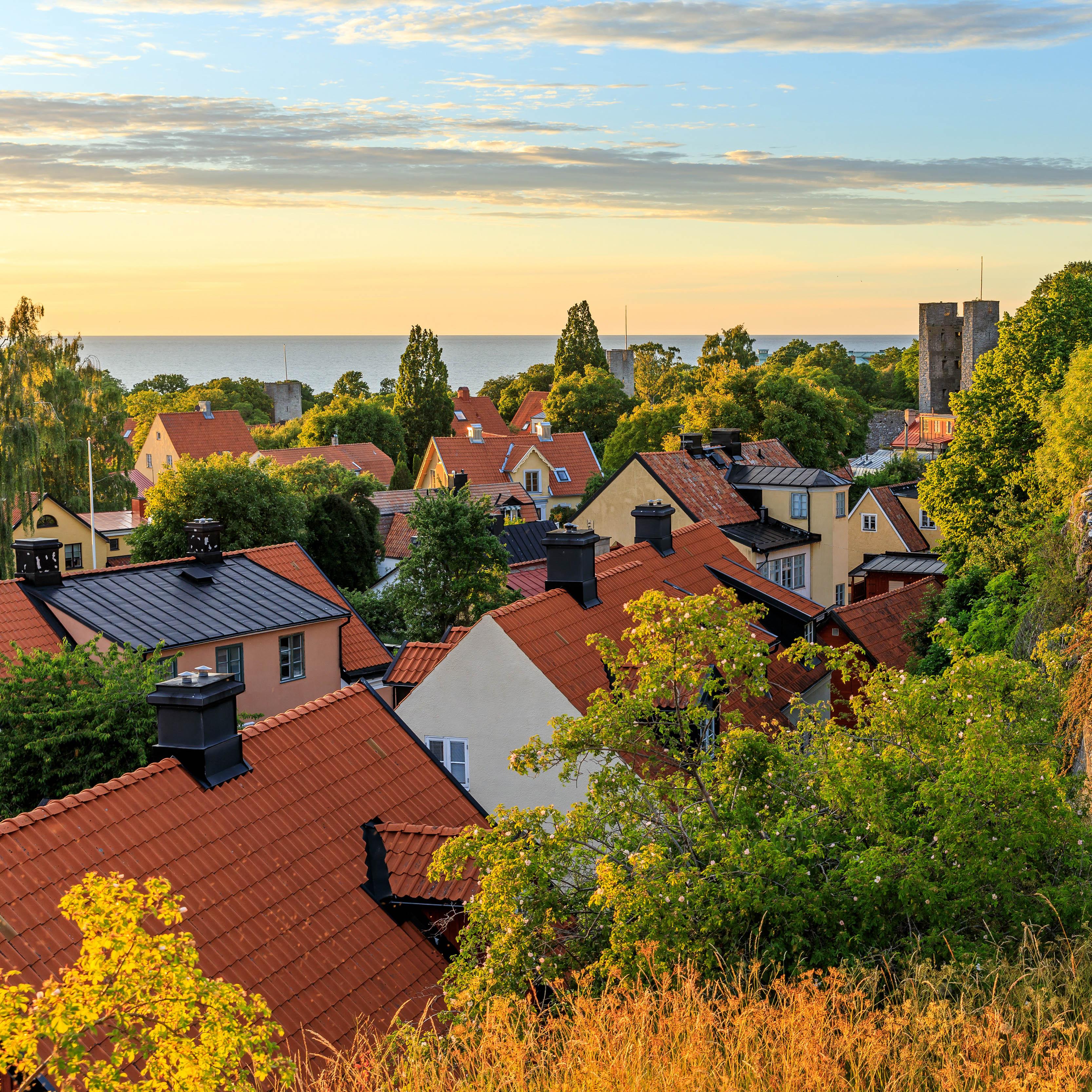 Visby, walking tour